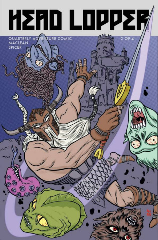 Head Lopper #2 (Allred Cover)