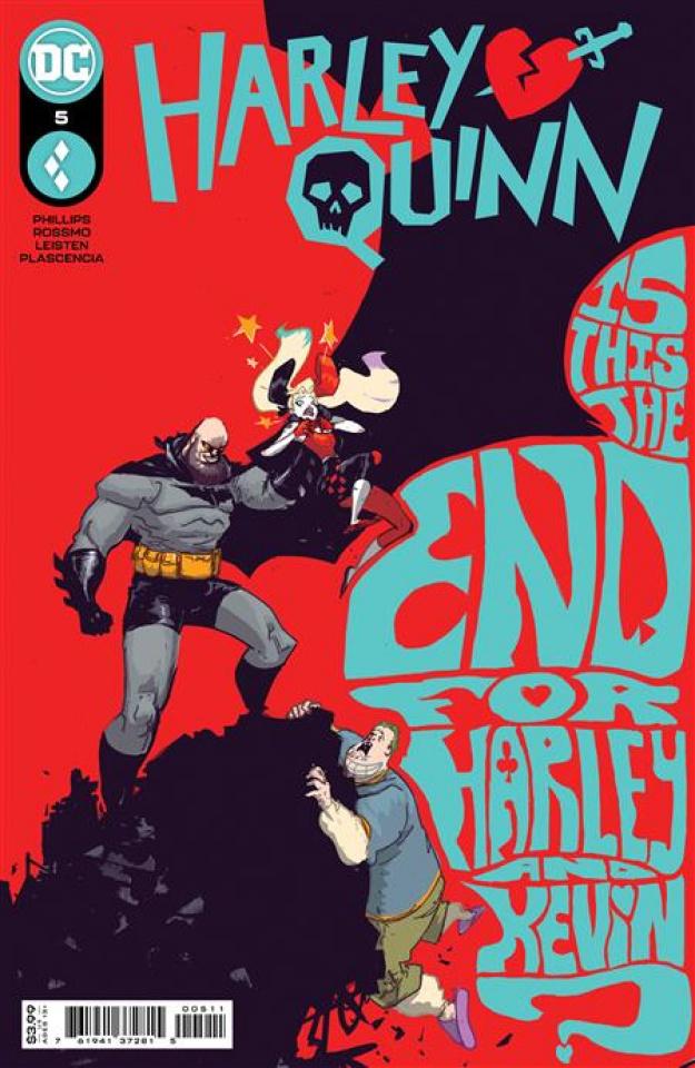 Harley Quinn #5 (Riley Rossmo Cover)