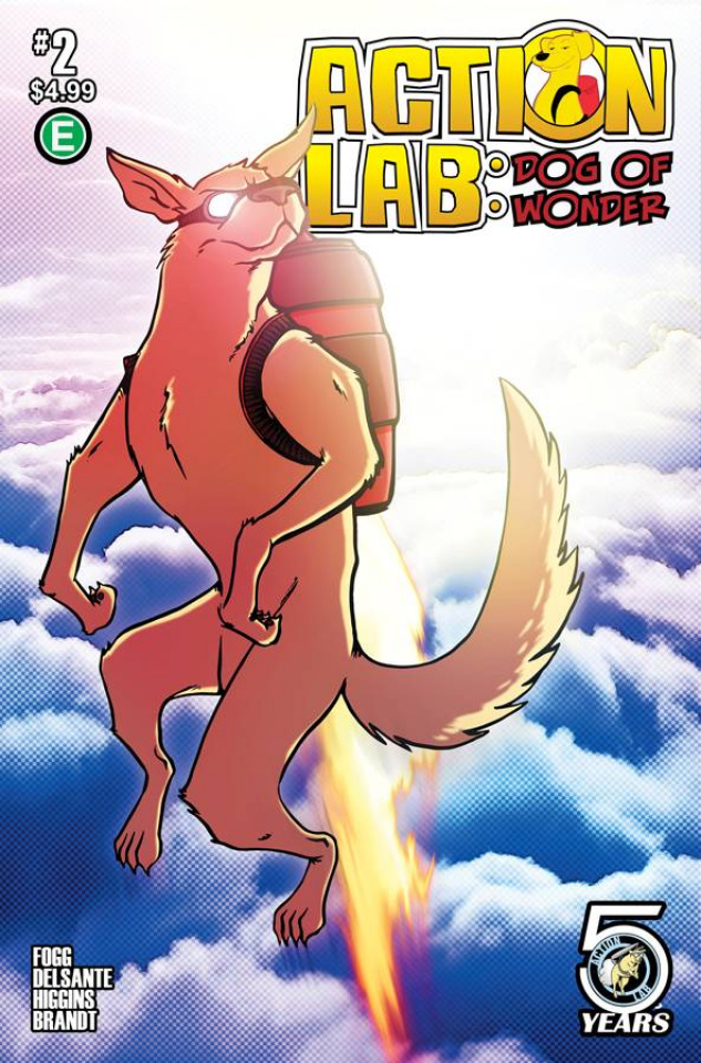 Action Lab: Dog of Wonder #2 (Ellis Cover)