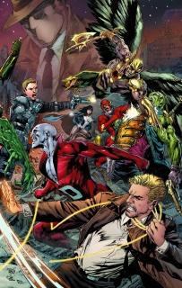 Justice League of America #6 (Trinity)