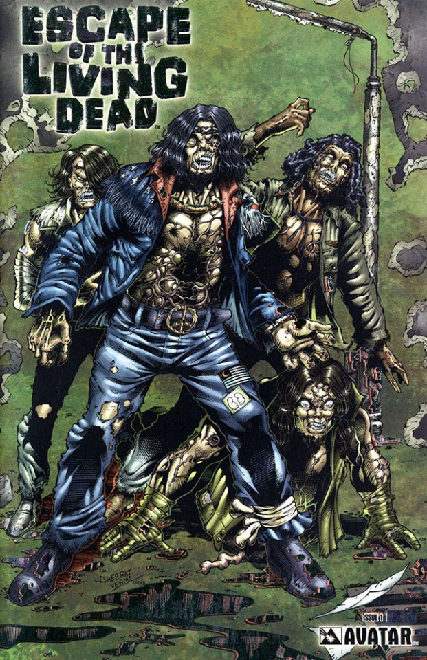 Escape of the Living Dead #1 (Platinum Foil Cover)