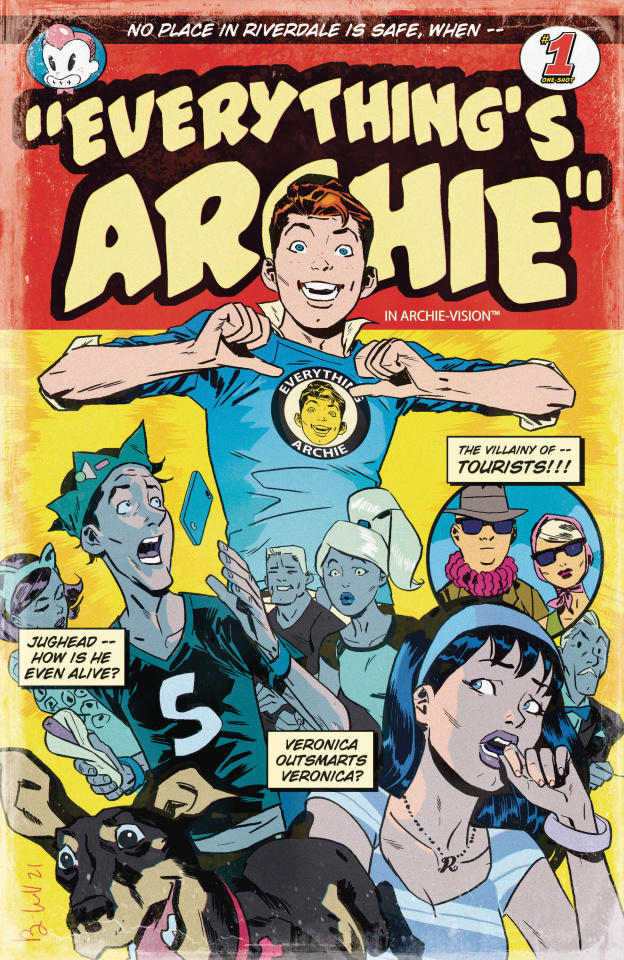 Archie 80th Anniversary: Everything Archie #1 (Ben Caldwell Cover)