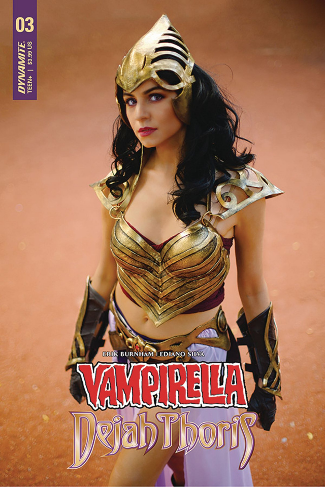 Vampirella / Dejah Thoris #3 (Dejah Thoris Cosplay Cover)