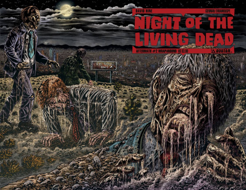 Night of the Living Dead: Aftermath #2 (Wrap Cover)