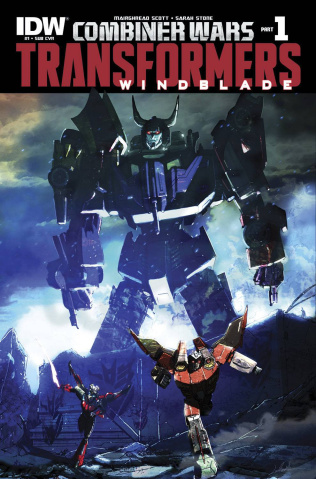 The Transformers: Windblade - Combiner Wars #1 (Subscription Cover)
