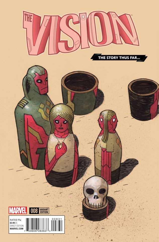 The Vision #8 (Walta Story Thus Far Var Cover)