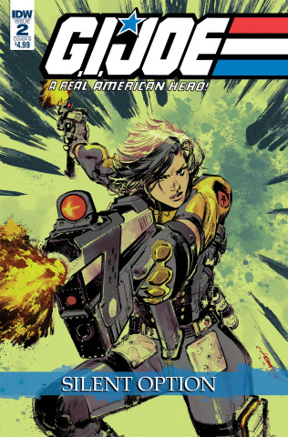 G.I. Joe: A Real American Hero - Silent Option #2 (Loh Cover)
