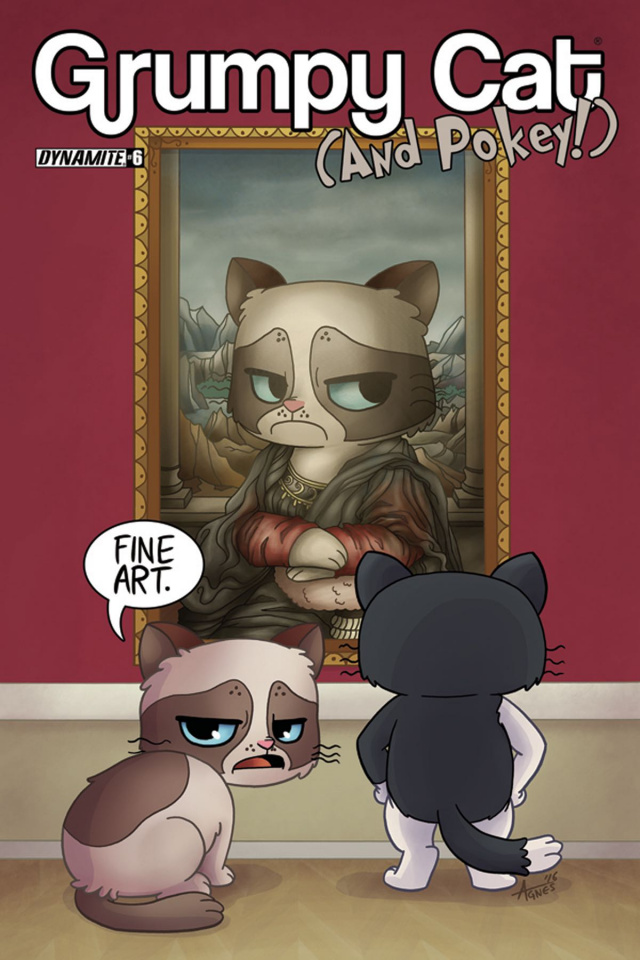 Grumpy Cat (and Pokey!) #6 (Garbowska Cover)