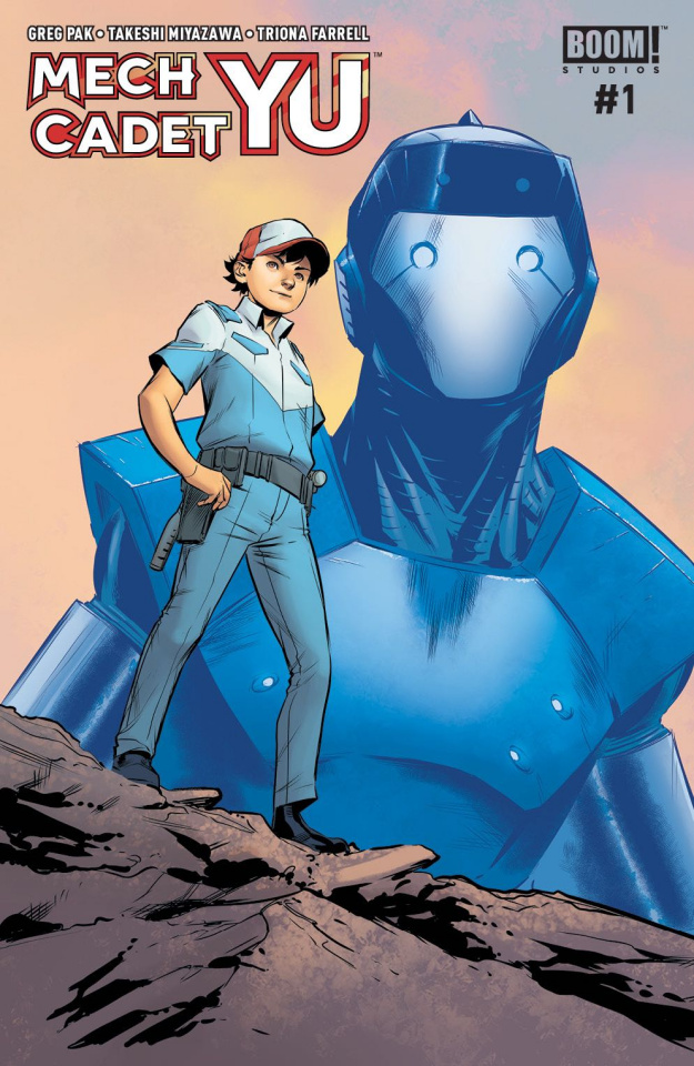Mech Cadet Yu #1 (Subscription To Connecting Cover)