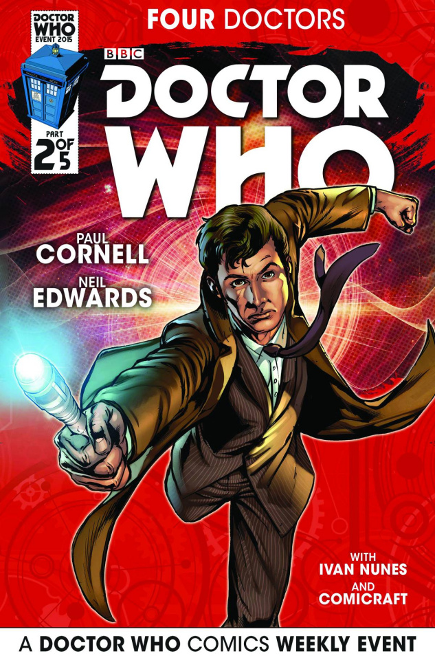 Doctor Who: Four Doctors #2 (Edwards Cover)