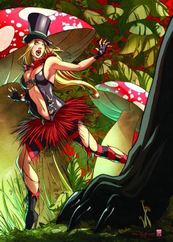 Grimm Fairy Tales: Wonderland #16 (Qualano Cover)