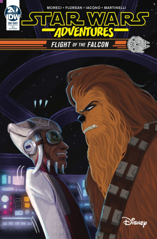 Star Wars Adventures: Flight of the Falcon (10 Copy Pinto Cover)