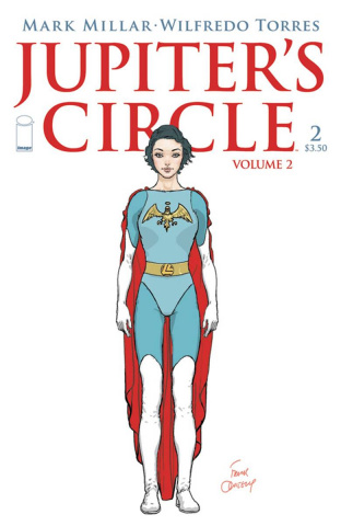 Jupiter's Circle #2 (Quitely Cover)