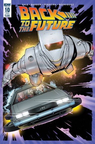Back to the Future #10 (ROM Cover)