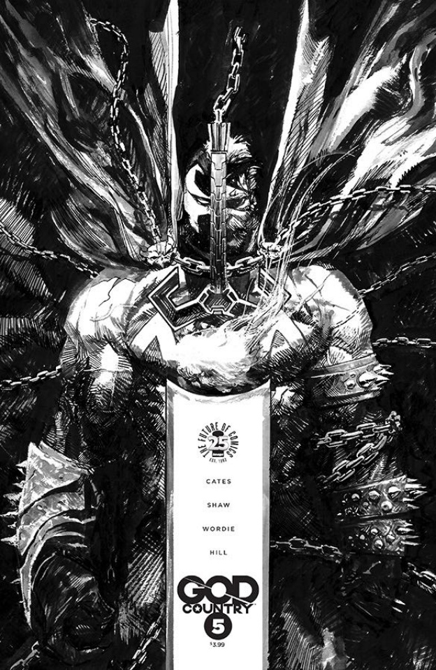 God Country #5 (Spawn Month B&W Cover)