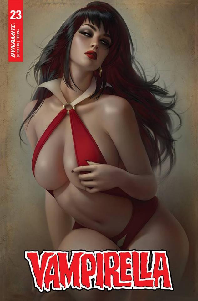 Vampirella #23 (Louw Cover)