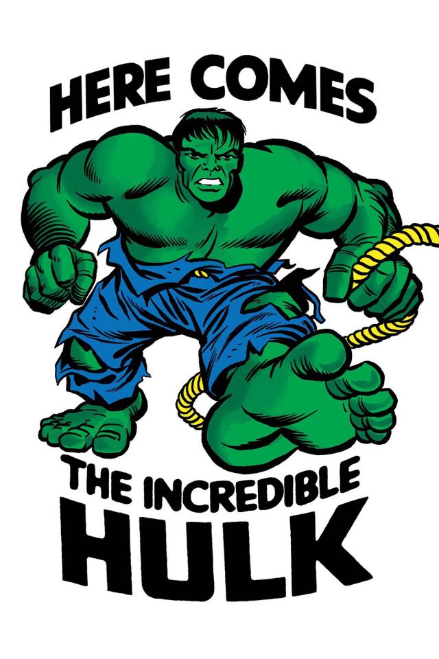 The Incredible Hulk #709 (Kirby 1965 T-Shirt Cover)
