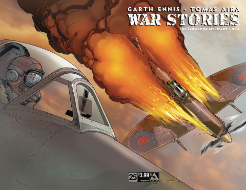War Stories #25 (Wrap Cover)