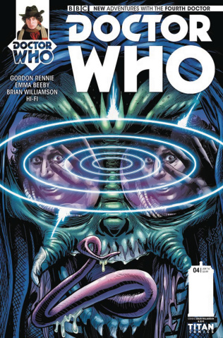 Doctor Who: New Adventures with the Fourth Doctor #4 (Williamson Cover)