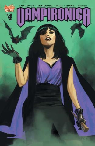 Vampironica #4 (Staples Cover)