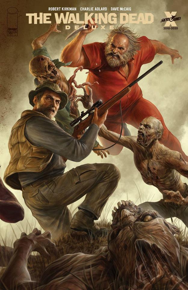 The Walking Dead Deluxe #16 (Rapoza Cover)