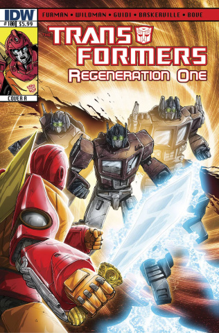 The Transformers: Regeneration One #100
