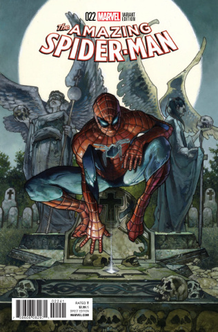 The Amazing Spider-Man #22 (Bianchi Cover)