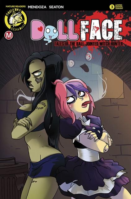 Dollface #3 (Pamfil Cover)