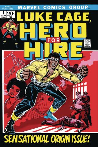 Luke Cage: Hero For Hire #1 (True Believers)