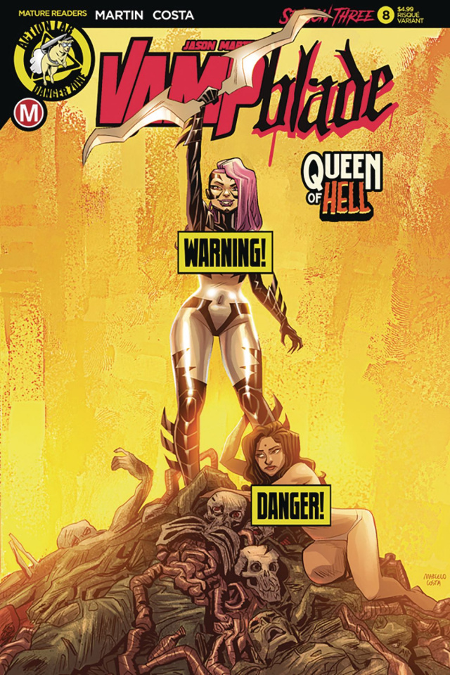 Vampblade, Season Three #8 (Costa Risque Cover)
