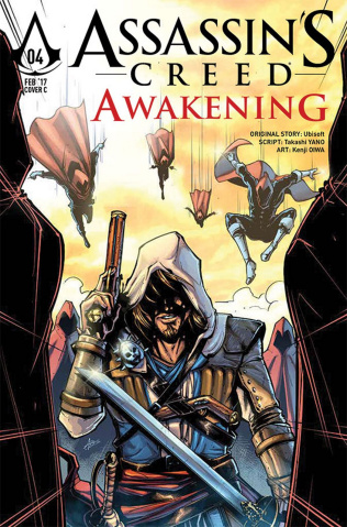 Assassin's Creed: Awakening #4 (Birdi Cover)