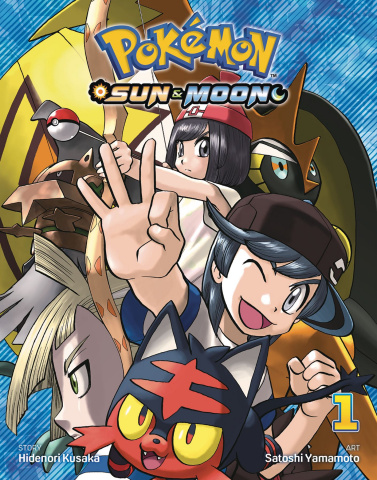 Pokémon: Sun & Moon Vol. 1