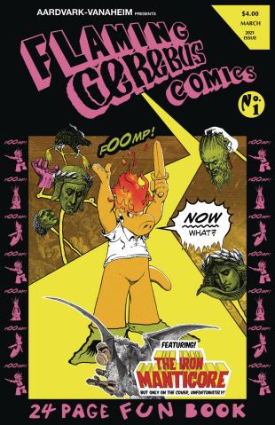 Flaming Cerebus Comics
