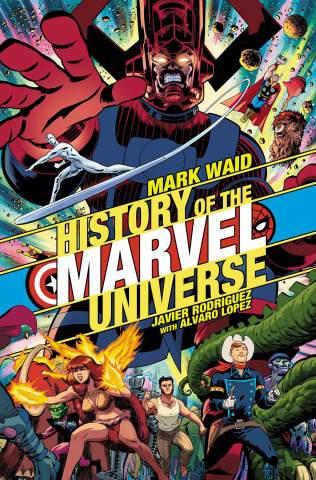 History of the Marvel Universe #1 (Rodriguez Cover)