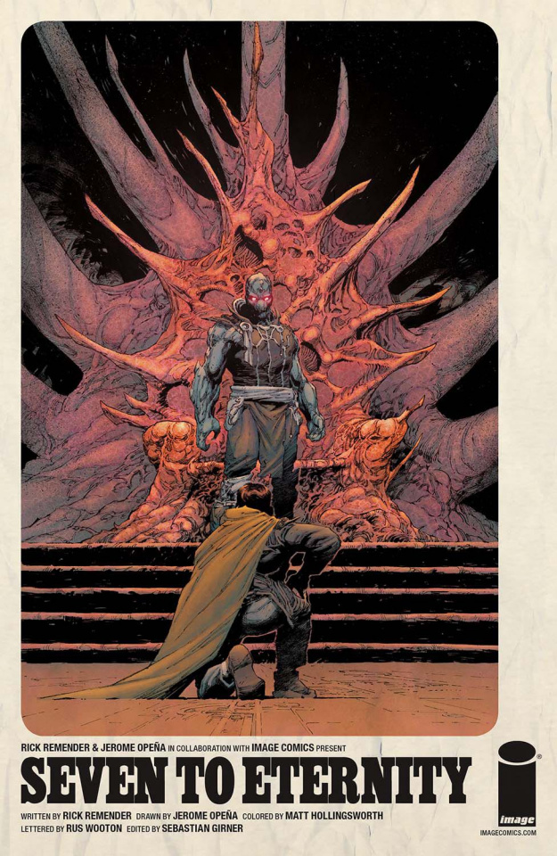 Seven to Eternity #2 (Opena & Hollingsworth Cover)