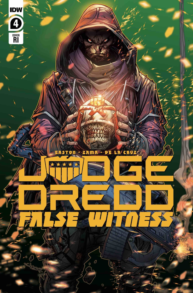 Judge Dredd: False Witness #4 (10 Copy Meyers Cover)