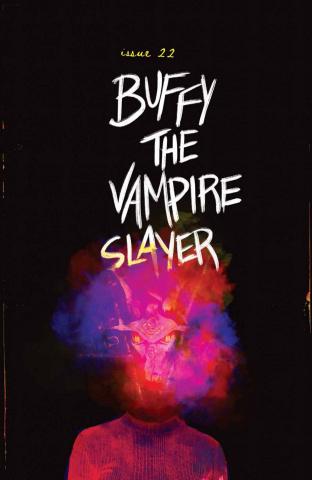 Buffy the Vampire Slayer #22 (Becca Carey Fire Cover)