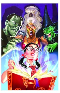 Grimm Fairy Tales: The Library #1 (Pekar Cover)