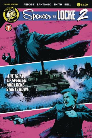 Spencer & Locke 2 #2 (House Cover)