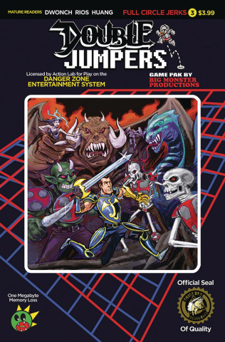 Double Jumpers: Full Circle Jerks #3 (Logan Cover)