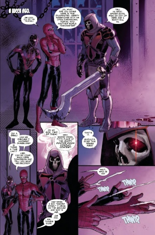 Spider-Men II #2 (Dell'otto Cover)