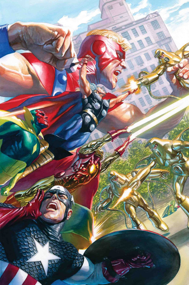 Avengers #18 (Alex Ross Marvels 25th Tribute Cover)