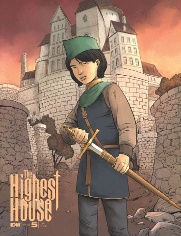 The Highest House #5 (10 Copy Cover)