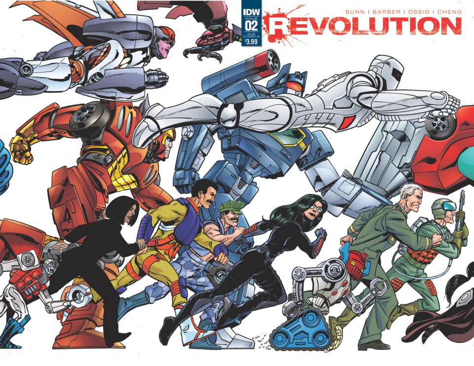 Revolution #2 (Subscription Cover B)