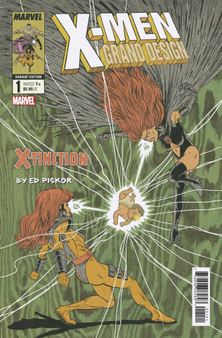 X-Men: Grand Design - X-Tinction #2 (Piskor Cover)