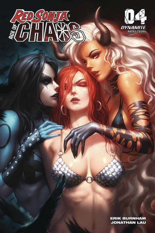Red Sonja: Age of Chaos #4 (10 Copy Kunkka Cover)