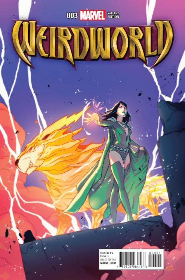 Weirdworld #3 (Carreon Cover)