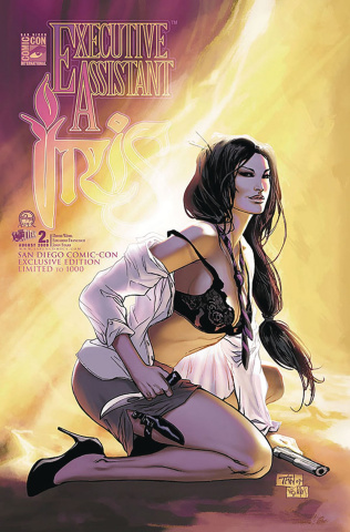 Executive Assistant Iris #2 (San Diego 2009 Cover)