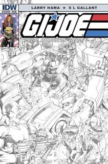 G.I. Joe: A Real American Hero #200 (Subscription Cover)