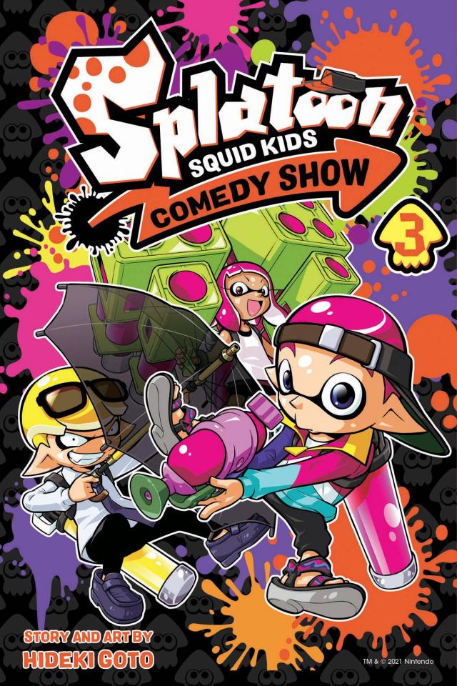 Splatoon Squid Kids Comedy Show Vol. 3